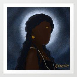 Nila | Moon Art Print