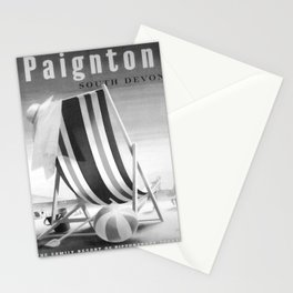 Affiche monochrome Paington South Devon Stationery Cards