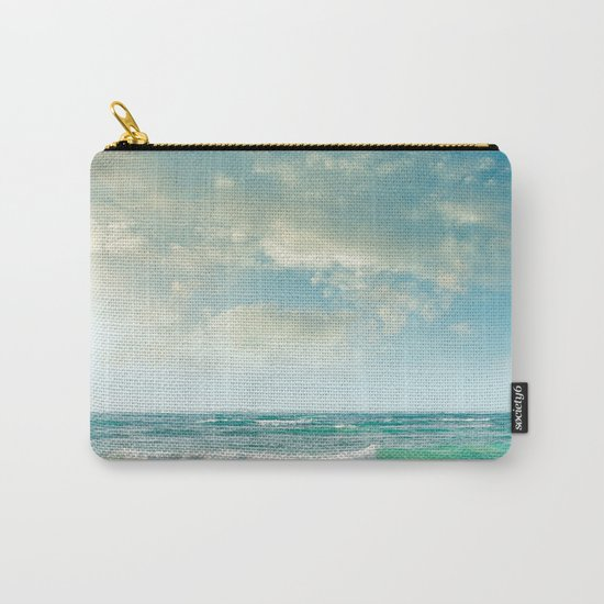 beach love tropical island paradise Carry-All Pouch