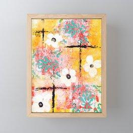 SUNSHINE & DAISIES Framed Mini Art Print