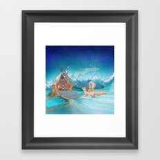 The Homecoming Framed Art Print