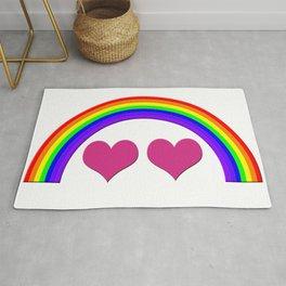 Rainbow Equal Love Rug