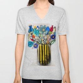 Rupy de Tequila 2019  - Wedding Vase of flowers Unisex V-Neck