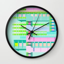 CENTROCHAOS Wall Clock