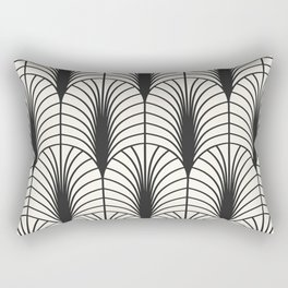 Arches in Black and White Rectangular Pillow