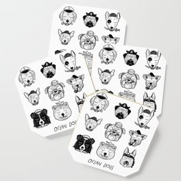 Ocean Dogs Coaster