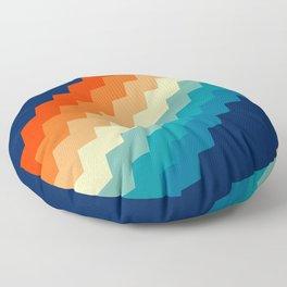 80s Pastel pattern Floor Pillow