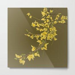 The Yellow Irish Bush Metal Print