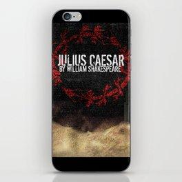 Julius Caesar by William Shakespeare, Milwaukee 2016 iPhone Skin