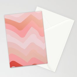 Summer Sunset Boho Waves Stationery Cards