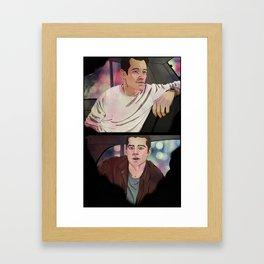 Remember like it was before. Framed Art Print