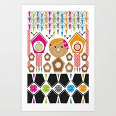 Cuckoo Time Art Print