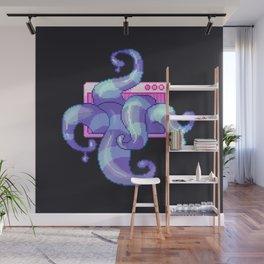 Pixel Tentacles Wall Mural