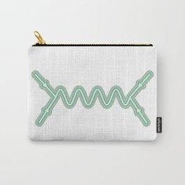Retro Feynman Diagram Carry-All Pouch