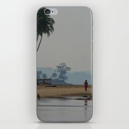 Along the Beach North Goa iPhone Skin