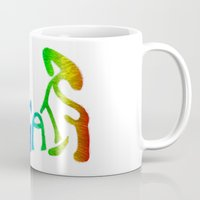 because cats Mugs featuring Because... Cats by J ō v