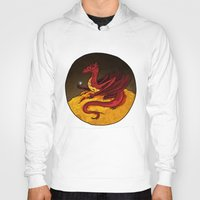 smaug Hoodies featuring Smaug the Golden by RedWryvenArt