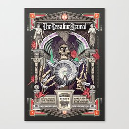 CreativeReveal - The Brand Guru (Variant Ver.) Canvas Print