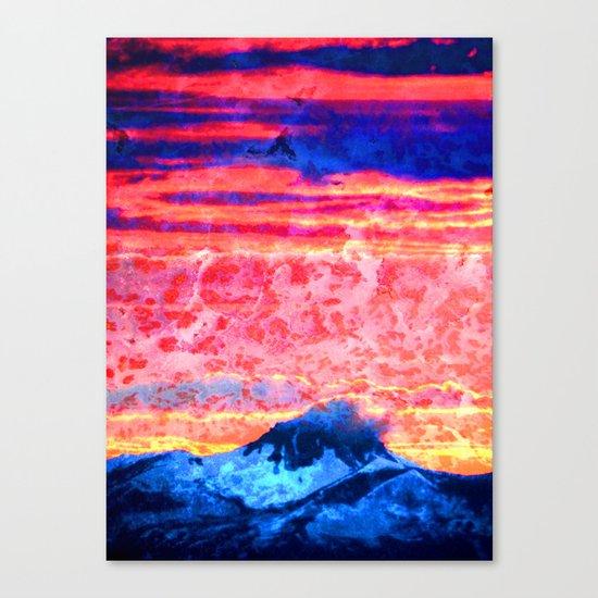 Turmoil on Mt. Jefferson Canvas Print