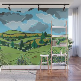 The Outback Wall Mural