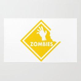 Halloween Zombie Rug