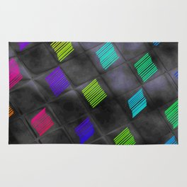 Square Color Rug