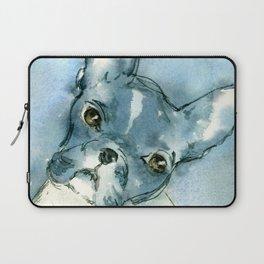 French Bull Dog Laptop Sleeve