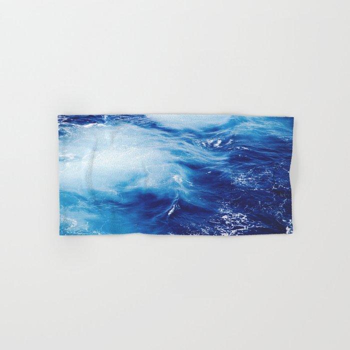 Ocean #blue Hand & Bath Towel