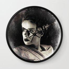 Elsa Lanchester Wall Clock