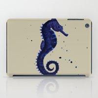 sea horse iPad Cases featuring Sea Horse by Chrystal Elizabeth