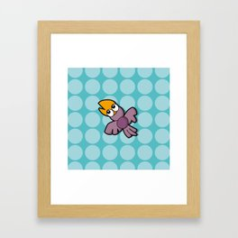 Ino Corvino - light blue Framed Art Print