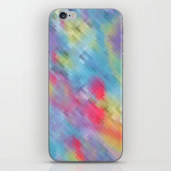 Wrinkle Pixel iPhone & iPod Skin