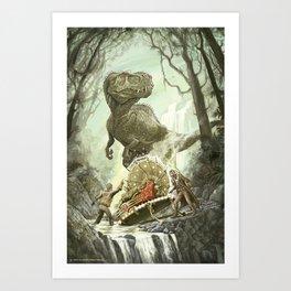 Cretaceous Conundrum Art Print