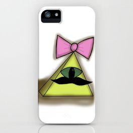 Disguised Illuminati On A Mission iPhone Case
