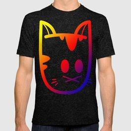 Big Ol' Cat Logo: With Moar Rainbows! T-shirt