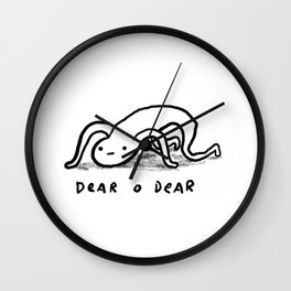 Honest Blob - Dear O Dear Wall Clock