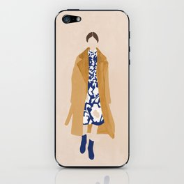 Floral Dress iPhone Skin