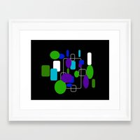 community Framed Art Prints featuring Community by lillianhibiscus