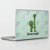 boyfriend Laptop & iPad Skins featuring Broccolini Boyfriend by khalan
