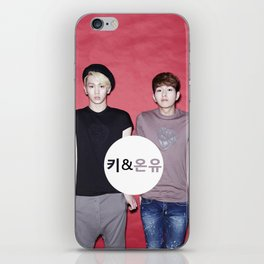 Key and Onew  iPhone Skin