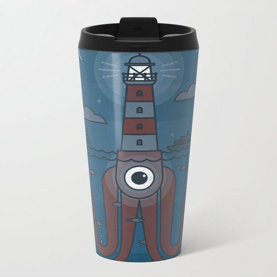 Sea Sentinel Metal Travel Mug