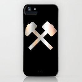 Sledgehammer Welding Construction Axes iPhone Case