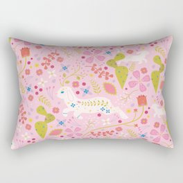 Desert Jackalope Rectangular Pillow