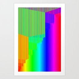 R Experiment 5 (quicksort v3) Art Print