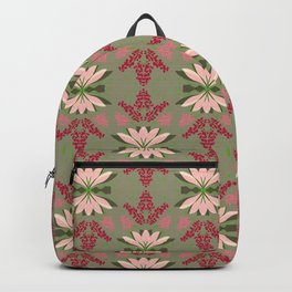Wild plant pattern 2a Backpack