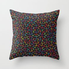 Crystallography Throw Pillow