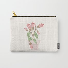 Flower In a Pot Carry-All Pouch