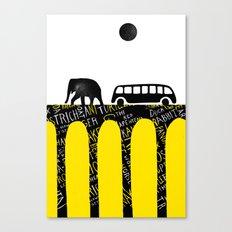 Elephant Parade Canvas Print