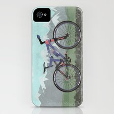 Mountain Bike iPhone (4, 4s) Slim Case