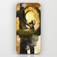 wonderland iPhone & iPod Skins featuring Wonderland  by nicky2342